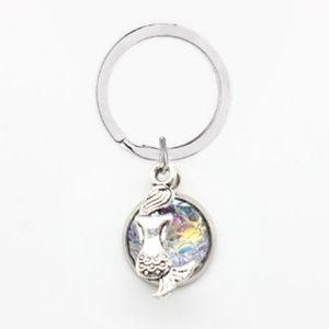 Accessories - 🧜♀️ 3D Iridescent Mermaid Keychain
